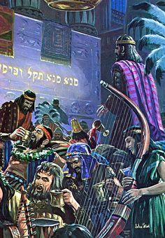 Daniel 5:22-30 Y tú, su hijo Belsasar, no has humillado tu corazón, sabiendo todo esto;  sino que contra el Señor del cielo te has ensoberbecido, e hiciste traer delante de ti los vasos de su casa, y tú y tus grandes, tus mujeres y tus concubinas, bebisteis vino en ellos; además de esto, diste alabanza a dioses de plata y oro, de bronce, de hierro, de madera y de piedra, que ni ven, ni oyen, ni saben; y al Dios en cuya mano está tu vida, y cuyos son todos tus caminos, nunca honraste…