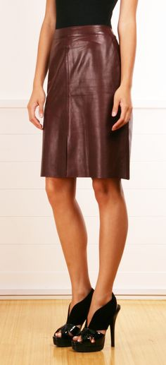 i need a leather skirt this fall