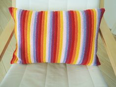 The Writing Tree: Finished project: crochet pillowcase
