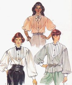 80s Vogue Sewing Pattern 8502 Womens Dropped by CloesCloset, $8.00