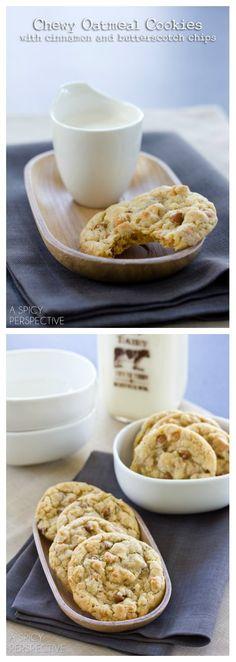 Oatmeal Butterscotch Cookies .