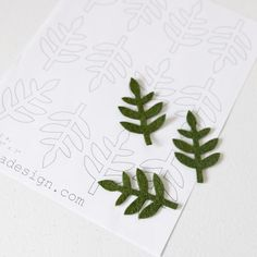 Lettuce Leaf | Craftiness {I have so much felt!} | Pinterest ...