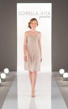 21e7de3c663 J4002 Juniors Chiffon Bridesmaid Dress by Sorella Vita Dresses 2016