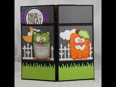 Never Ending Halloween Card.  Must do this for granddaughter!