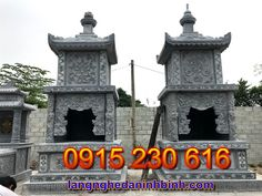 Tháp mộ đá đẹp - Mẫu mộ tháp bằng đá đẹp hiện nay