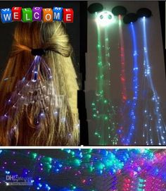 glow hair extensions - Google Search
