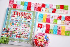 Quilty Fun Sew Along & Blog Tour :: Week 10 ::   4-Patches