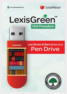 LexisGreen  Civil Procedure pack is an ultimate handy reference solution for lawyers. It covers the latest statutory amendments, including State High Court amendments and substantive procedural rules. A broad thematic compilation of civil judicial rules and procedure, Civil Procedure pack incorporates all the notable decisions of the Supreme Court and various High Courts.