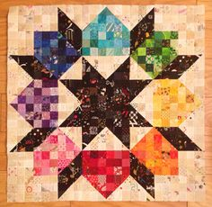 Sheri's mini-a-month challenge. May 2015 - ready for quilting.