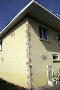 Personnalisez votre maison avec l'enduit à la chaux naturelle Decopierre® : seulement quelques détails imitation pierre, et le tour est joué !