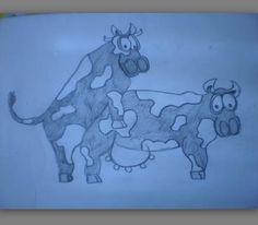 getekend toen ik een jaar of 9 was. ik weet ook niet waarom. haha wel komisch