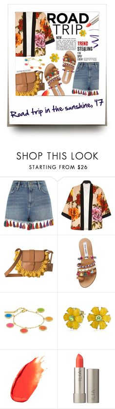 """Spring-Summer 17 (Plus Size Chic)"" by foolsuk ❤ liked on Polyvore featuring River Island, M Missoni, Steve Madden, Marc Jacobs, Bling Jewelry and Stila"