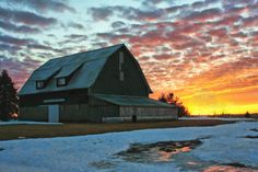 Sunset in Snow Melt by jsw0109