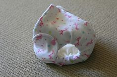 free pattern for turn and topstitch diaper
