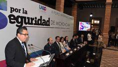 ARRANCA SEGUNDO FORO INTERNACIONAL POR LA SEGURIDAD DE MICHOACÁN