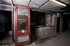 subterranean Victorian shopping arcade