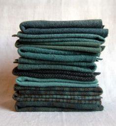 ~ Mary Flanagan textured Felted Wool Bundle ...