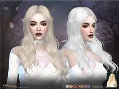 This hair style has 17 kinds of color Found in TSR Category 'Sims ...