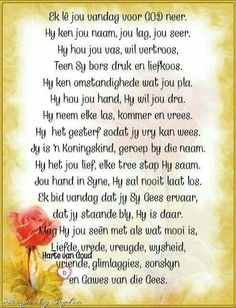 Aluminum Crafts, Goeie More, Afrikaans Quotes, Biblical Quotes, Special Quotes, Christianity, Poems, Bible, Van