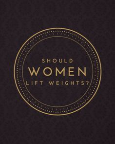 Should women really be lifting weights? Lets talk about it. More fitness and nutrition tips at www.beamfitness.ca
