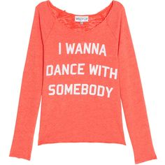 WILDFOX Wanna Dance Sweater ($199) ❤ liked on Polyvore