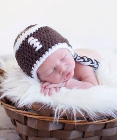Look at this Bits N Baubles BeBe Brown Knit Football Earflap Beanie on #zulily today!