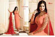 Item Type-Designer Suit (As Seen in images). Pakistani Party Wear Dresses, Party Kleidung, Indian Bollywood, Dress Suits, Salwar Kameez, Ethnic, Sari, Type, How To Wear