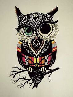 Pin by courtney on -doodles & art- in 2019 Owl Doodle, Doodle Art, Owl Tattoo Drawings, Art Drawings, Buho Tattoo, Owl Wallpaper, Owl Tattoo Design, Animal Sketches, Owl Art