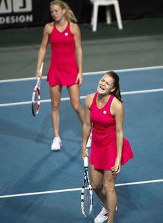 Agnieszka and Urszula Radwanska (POL)