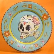 Made in the USA lead free dinnerware microwave safe broiler safe dishwasher safe~ | Handpainted giftware for any occasion | Pinterest | Dinnerware ...  sc 1 st  Pinterest & Made in the USA lead free dinnerware microwave safe broiler safe ...