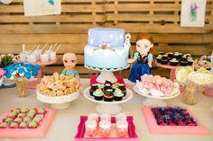 Aniversário, tema, frozen, frozen party, diy, faça você mesma, anna, elsa, olaf, decoração, doces, lembrancinhas, pallet