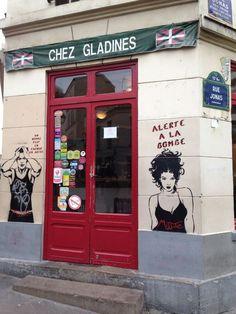 Le restaurant Chez Gladines de la Butte aux Cailles © Marie Pierre Cheroux
