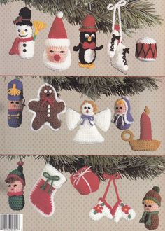 Christmas Ornaments Crochet Patterns 15 Cute Designs