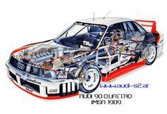 Audi 90 IMSA