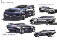 Future Range Rover concept.