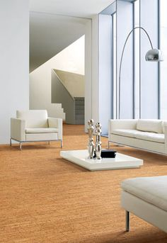 #Cork #flooring, available through Flooring America.