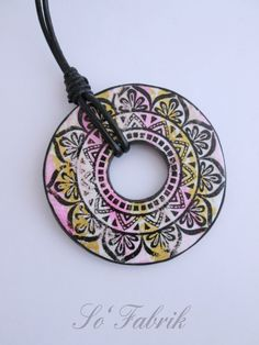 Mandala collection à voir sur ma page FLICKR - polymer Silkscreen-