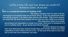 M Scott Peck quote M Scott Peck, Courage Quotes, This Is Your Life, Life Problems, All Or Nothing, Orlando Bloom, Personal Development, Wise Words, Quotes To Live By