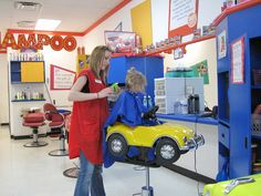 Kid Hair Salon Space