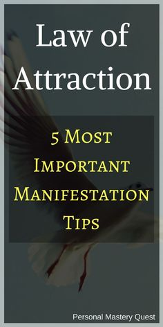 5 tips manifest your desires law attraction