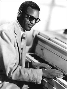 "Ray Charles, native of Albany Georgia. ""Georgia On My Mind"""