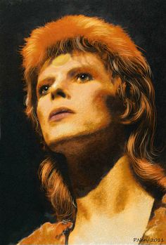 I celebrate the Bowie's birthday like no other.