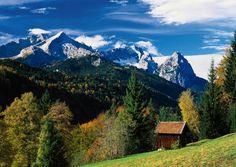 Garmisch-Partenkirchen, Germany, Zugspitze massif