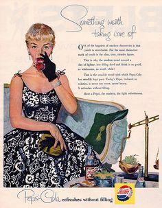 pepsi cola 1955