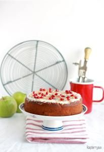 {Let's cook together} Apfel-Mohn-Kuchen