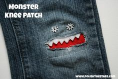 Polish The Stars: Monster Knee Patch