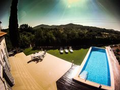A place to relax and enjoy the Mediterranean climate at Supertone Records residential recording studio, Valencia. Spain