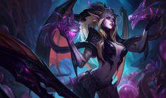 Download wallpaper Dragon Sorceress Zyra Skin full HD on GameWalls.