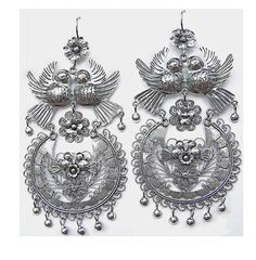 Frida Style Mexican Filigree Earrings | Tita Rubli Jewelry - Part 1