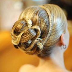 bridesmaid updos picture